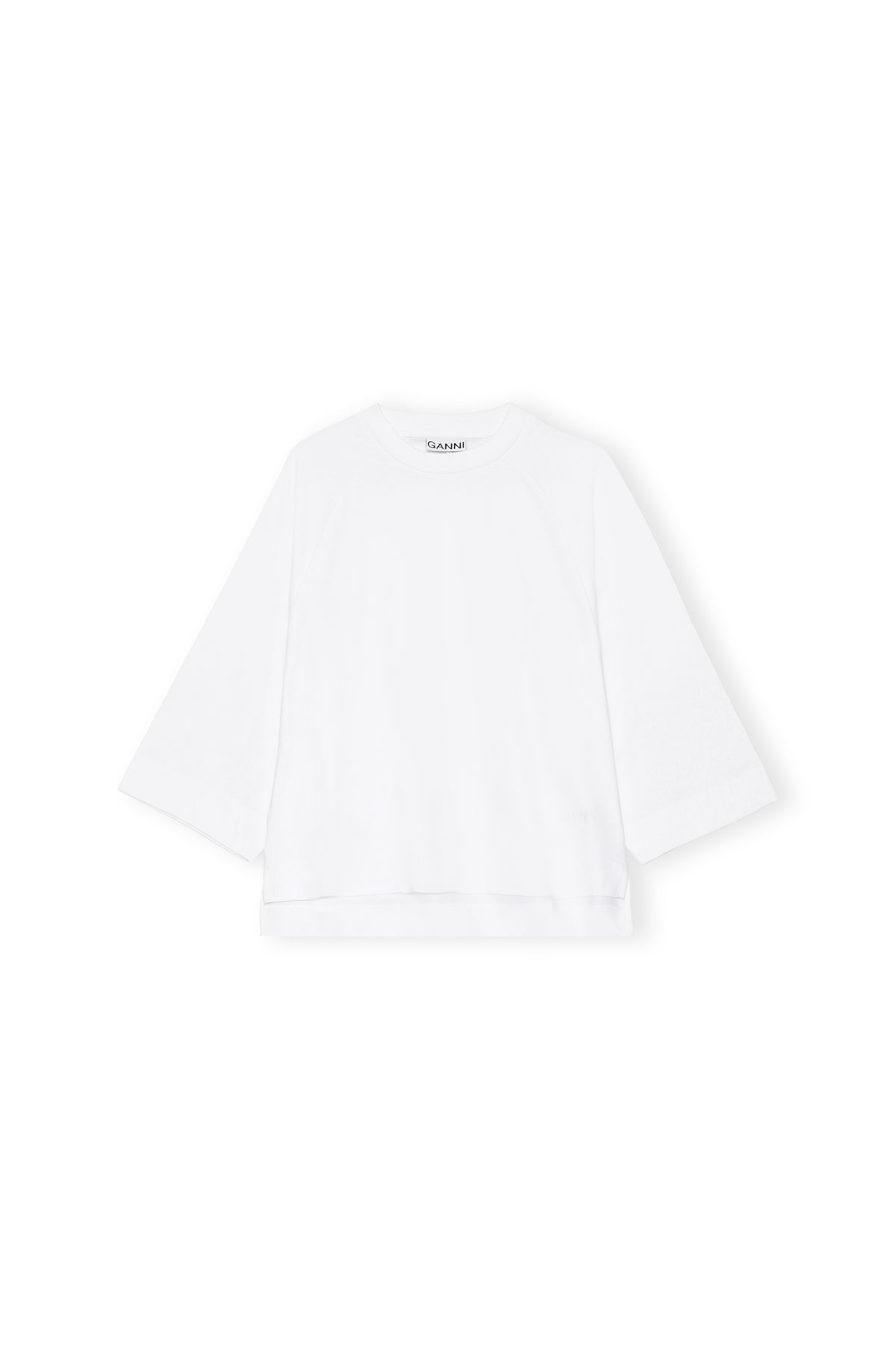 Ganni - Oversized T-shirt | Bright White