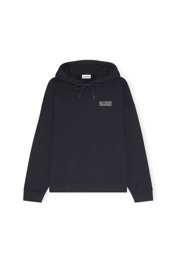 Ganni - Software Isoli Hoodie | Black
