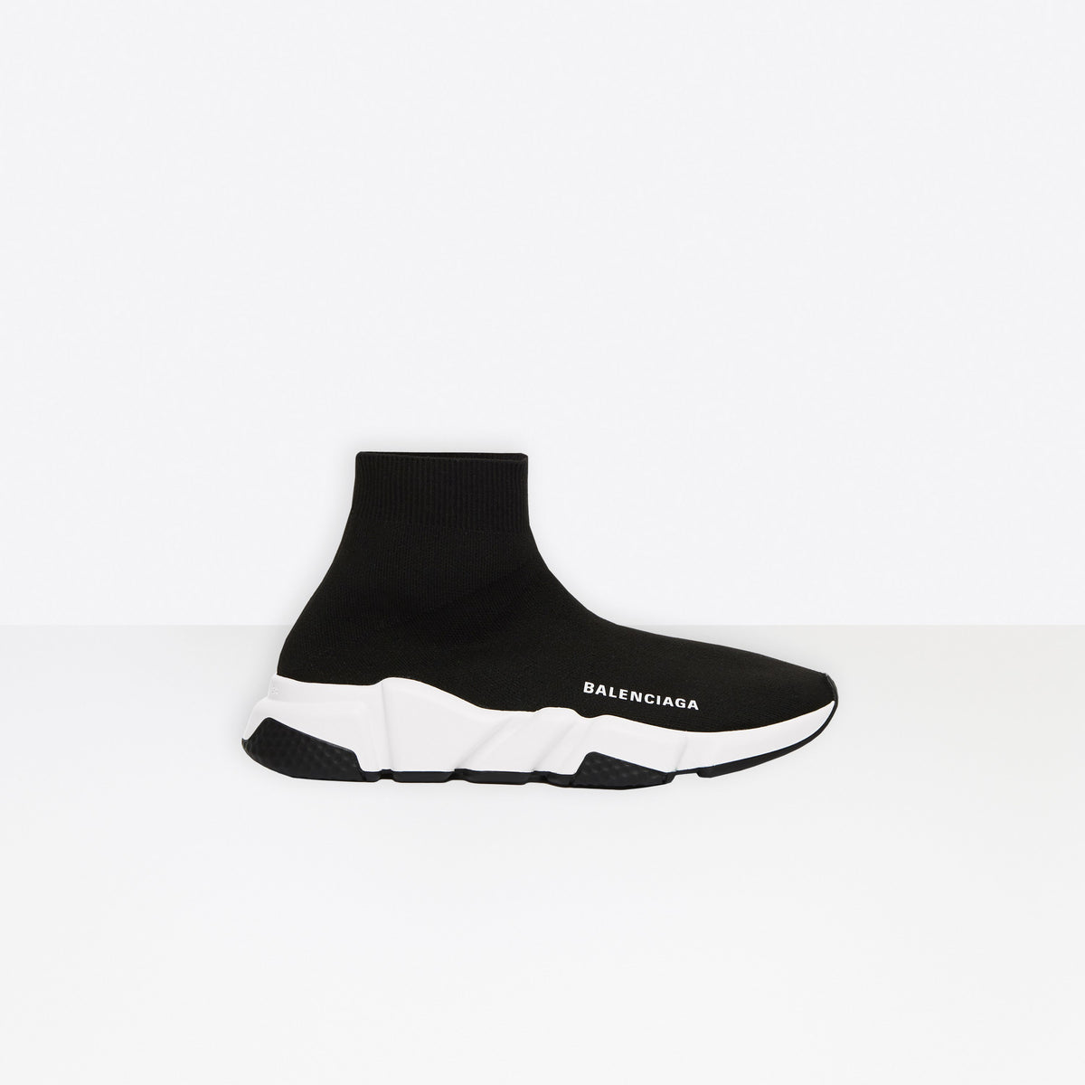 SPEED SNEAKER - black/white