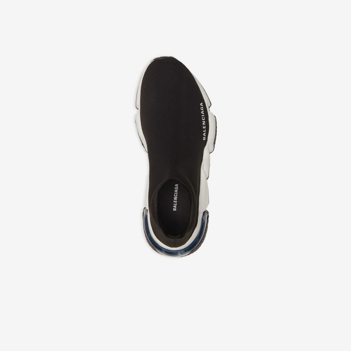 BALENCIAGA - SPEED CLEAR SOLE SNEAKER for WOMEN (black/white)