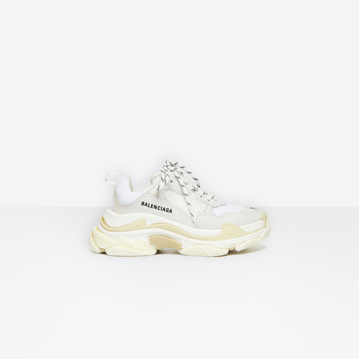 TRIPLE S SNEAKER - all white