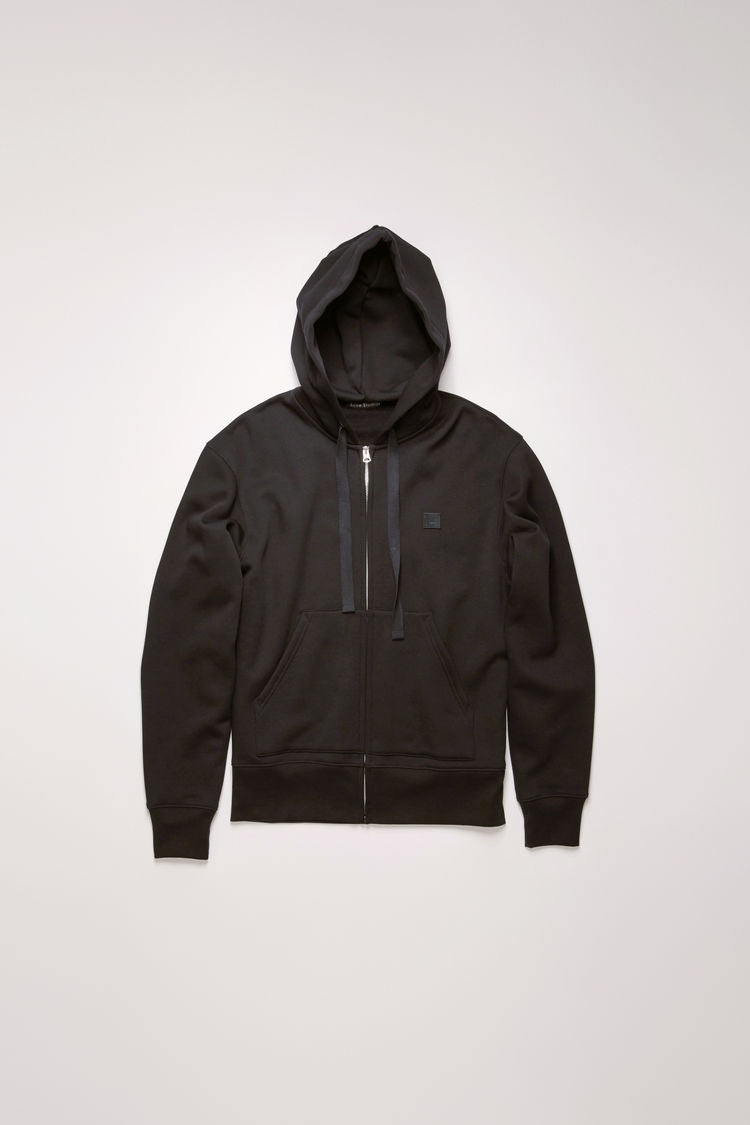 Ferris Zip Face Hooded Sweatshirt | Black