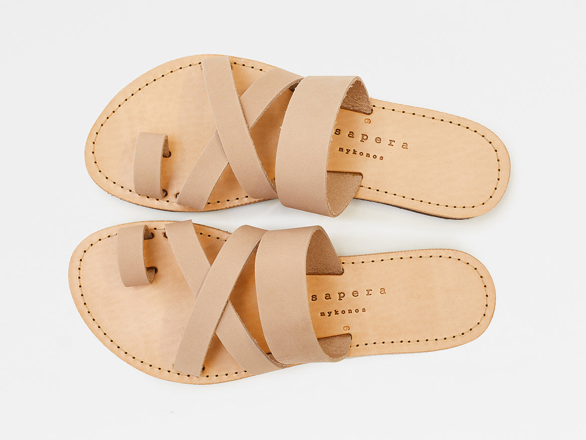 Isapera - Jay Sandals - Soft Pink