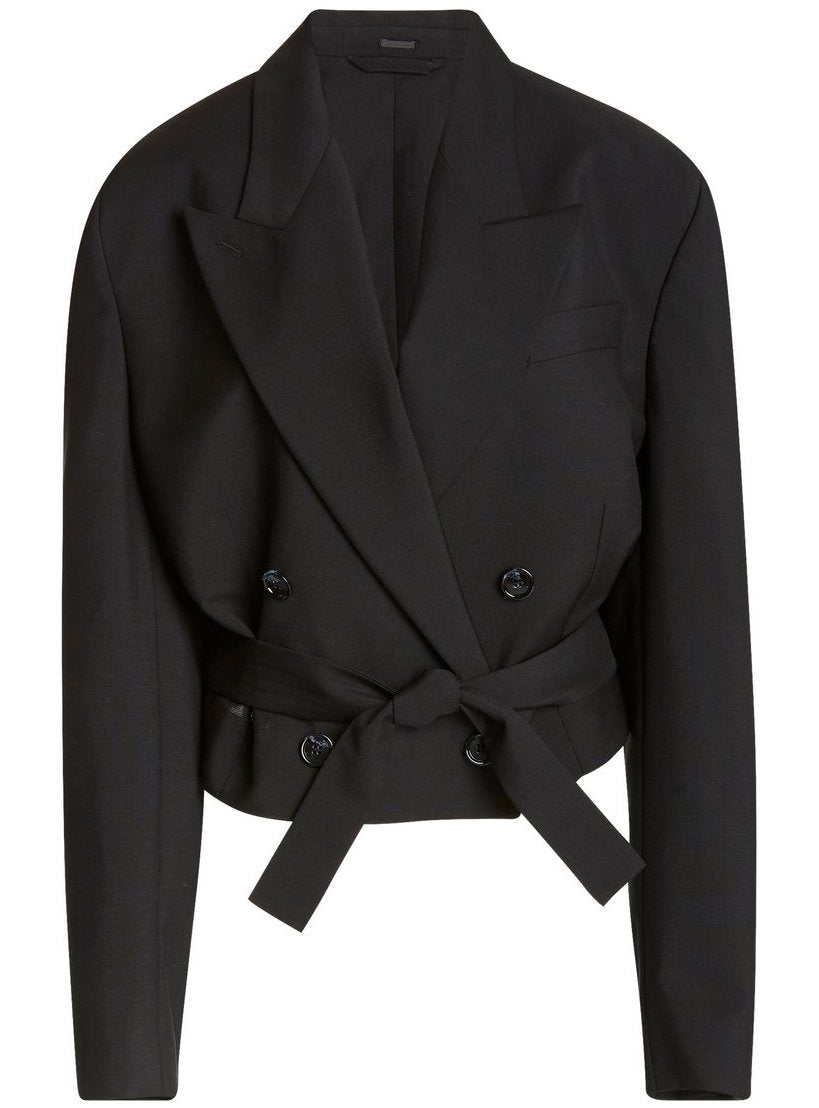 Josie Blazer Jacket - Black