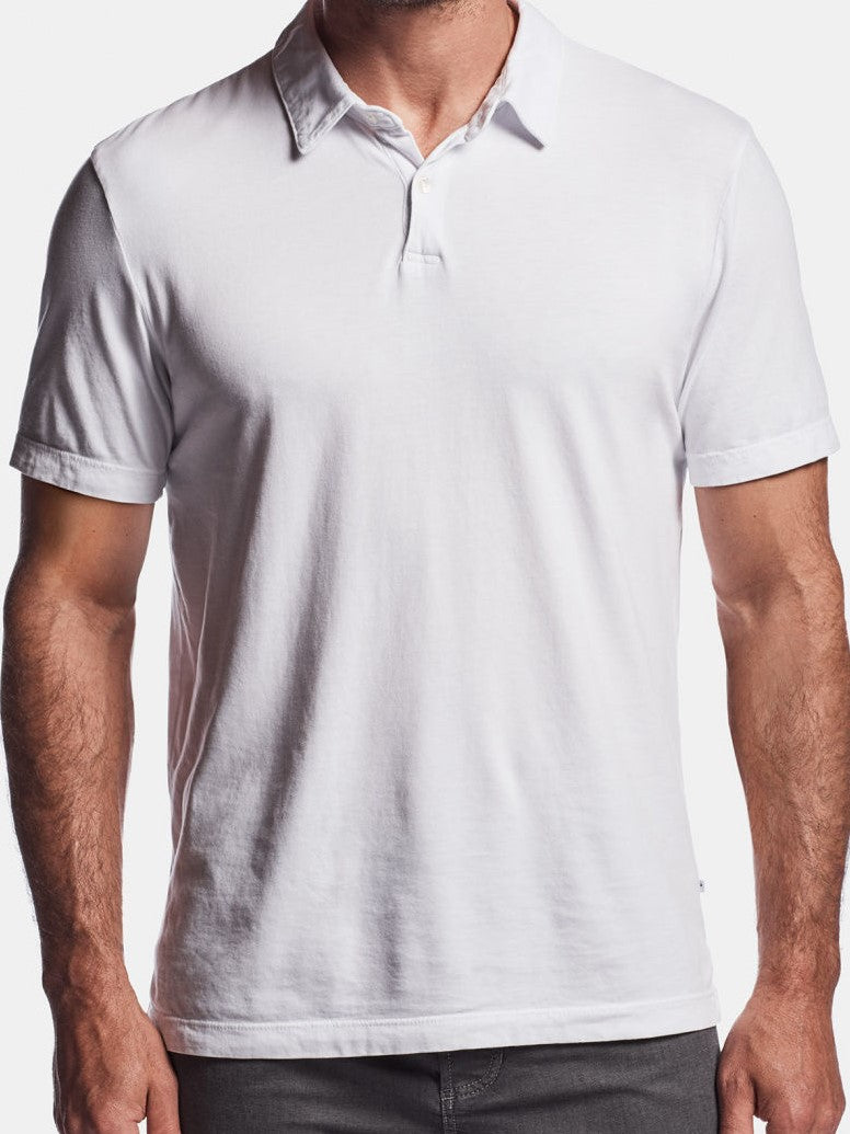 Revised Standard Polo - White
