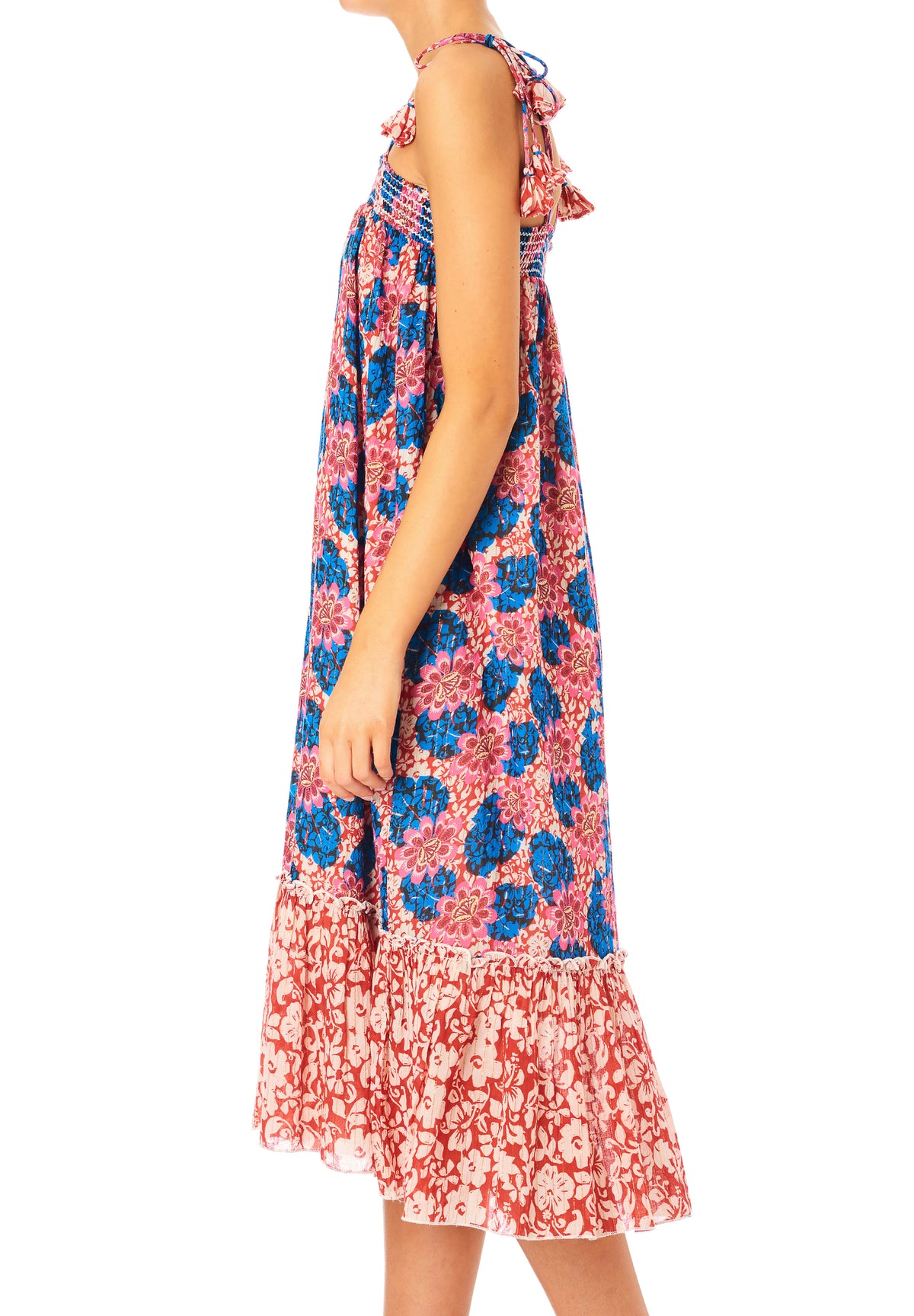 Regina Print Sundress - Multi