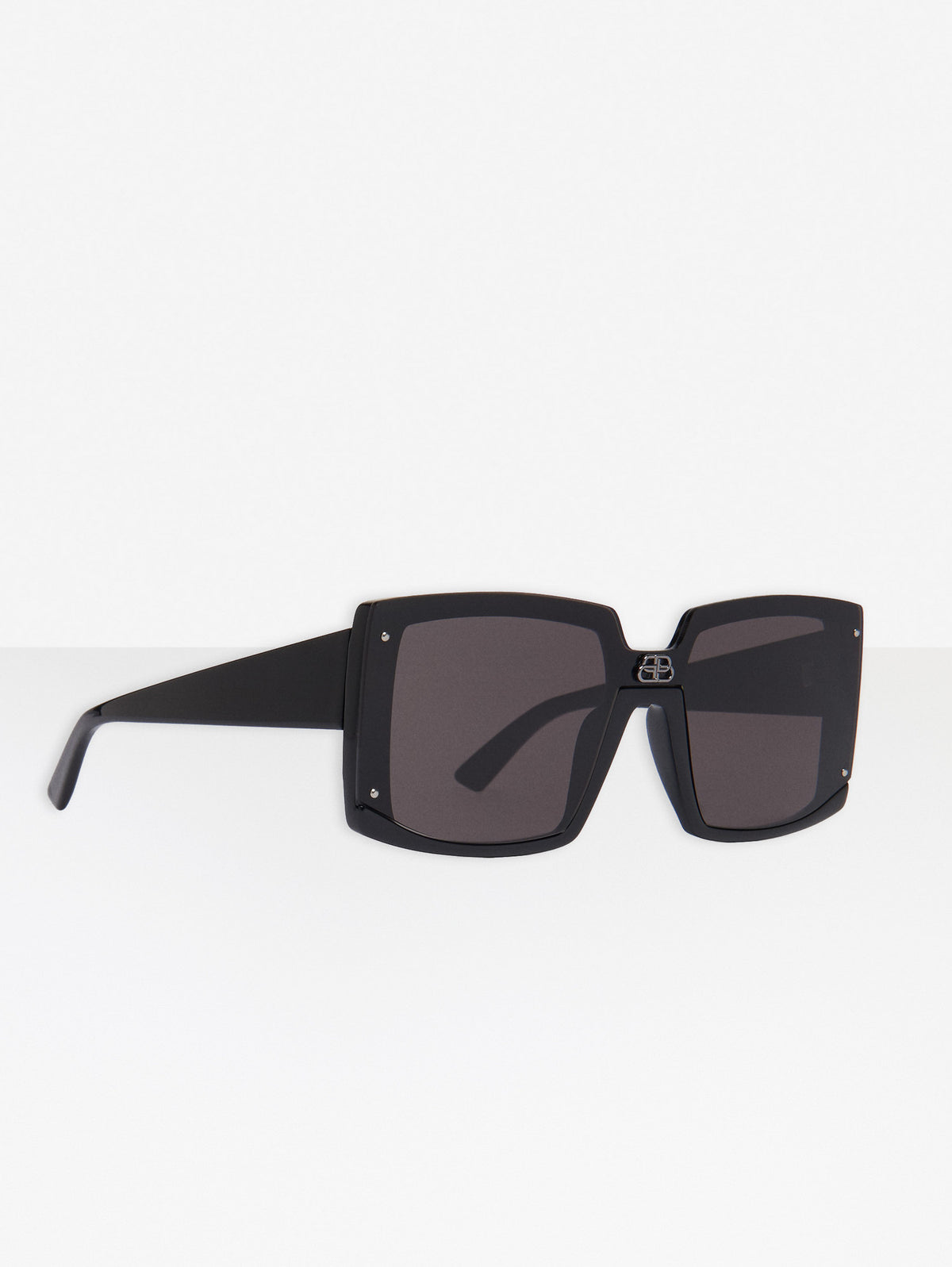 Shield Square Sunglasses - Black