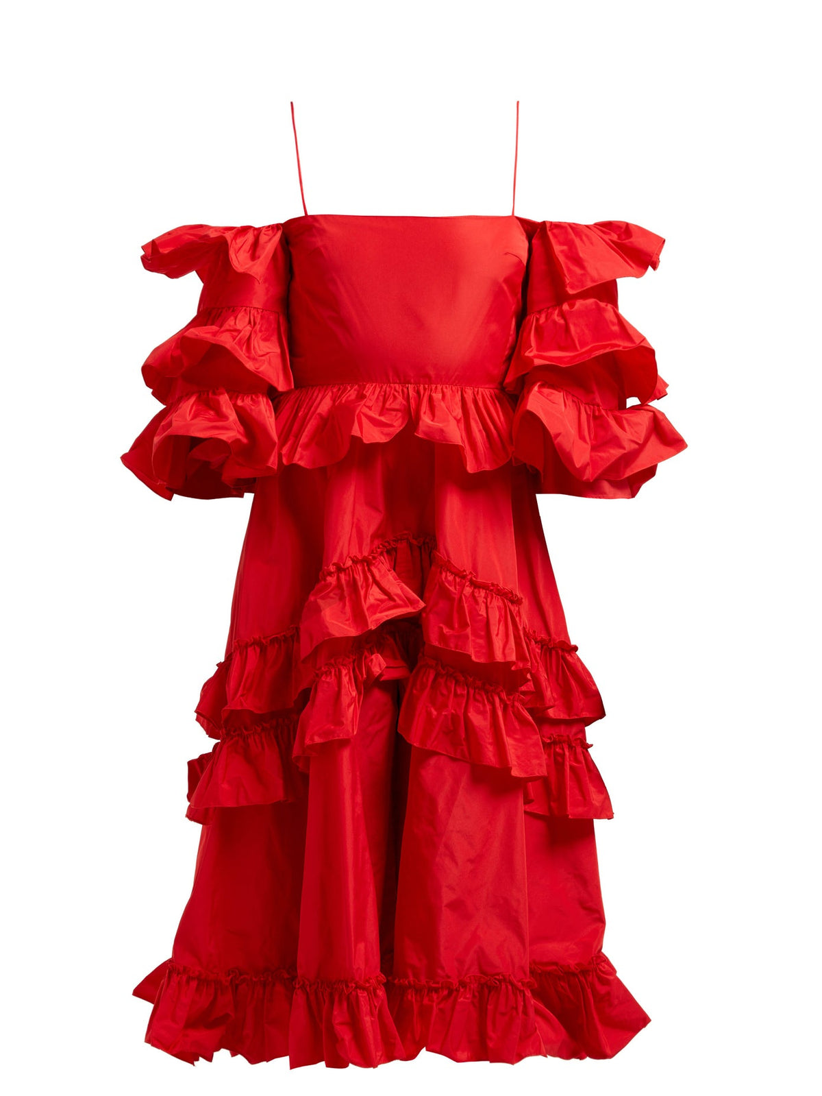 AlexaChung - Ruffle Tier Dress