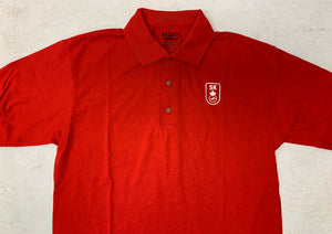 Red Polo (Swim Sask Logo)