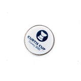 24mm Resin Ball Marker - Curtis Cup 2020 - Conwy Golf Club