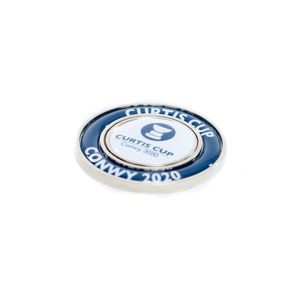 40mm Halo Ball Marker - Curtis Cup 2020 - Conwy Golf Club