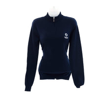 Glenmuir Ladies Zip Neck Cotton Golf Sweater - Curtis Cup 2020 - Conwy Golf Club