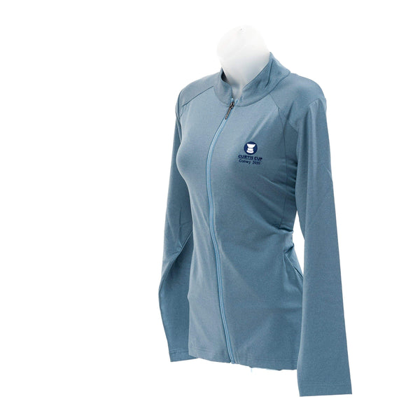 PING Ladies Eidi Full Zip Top - Curtis Cup 2020 - Conwy Golf Club