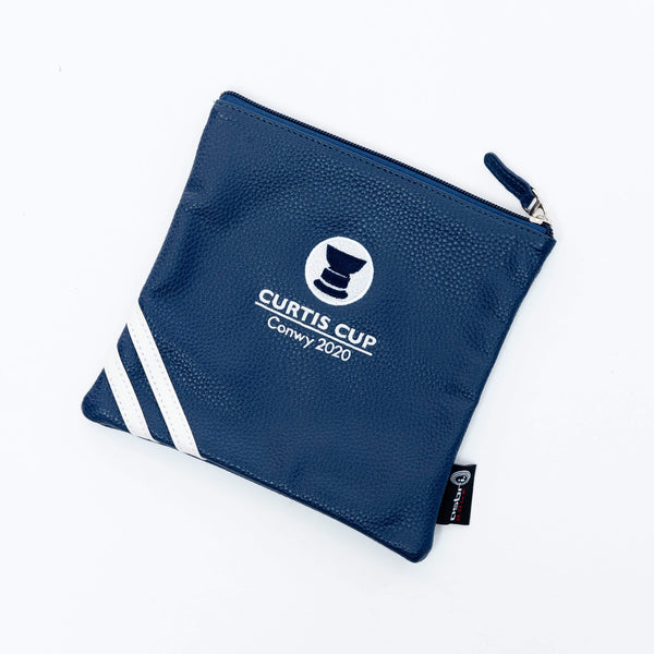Prestige Valuables Pouch - Curtis Cup 2020 - Conwy Golf Club
