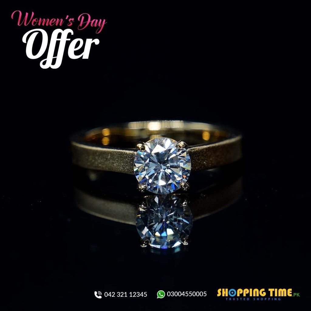 Gold Plated Ring for Women