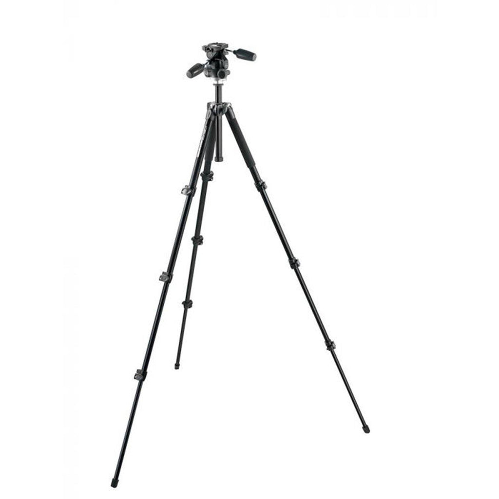 TRIPOD BLK WITH 3W HEAD