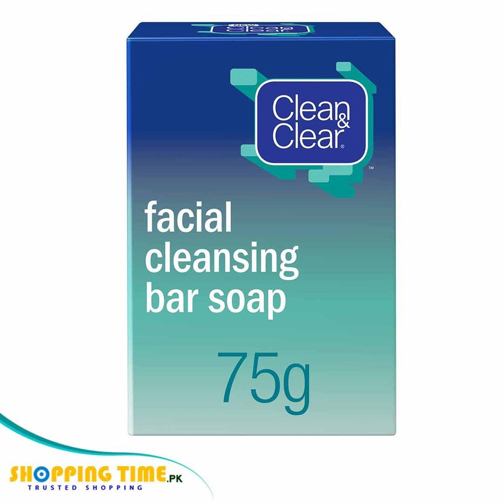Clean & Clear facial cleansing bar soap