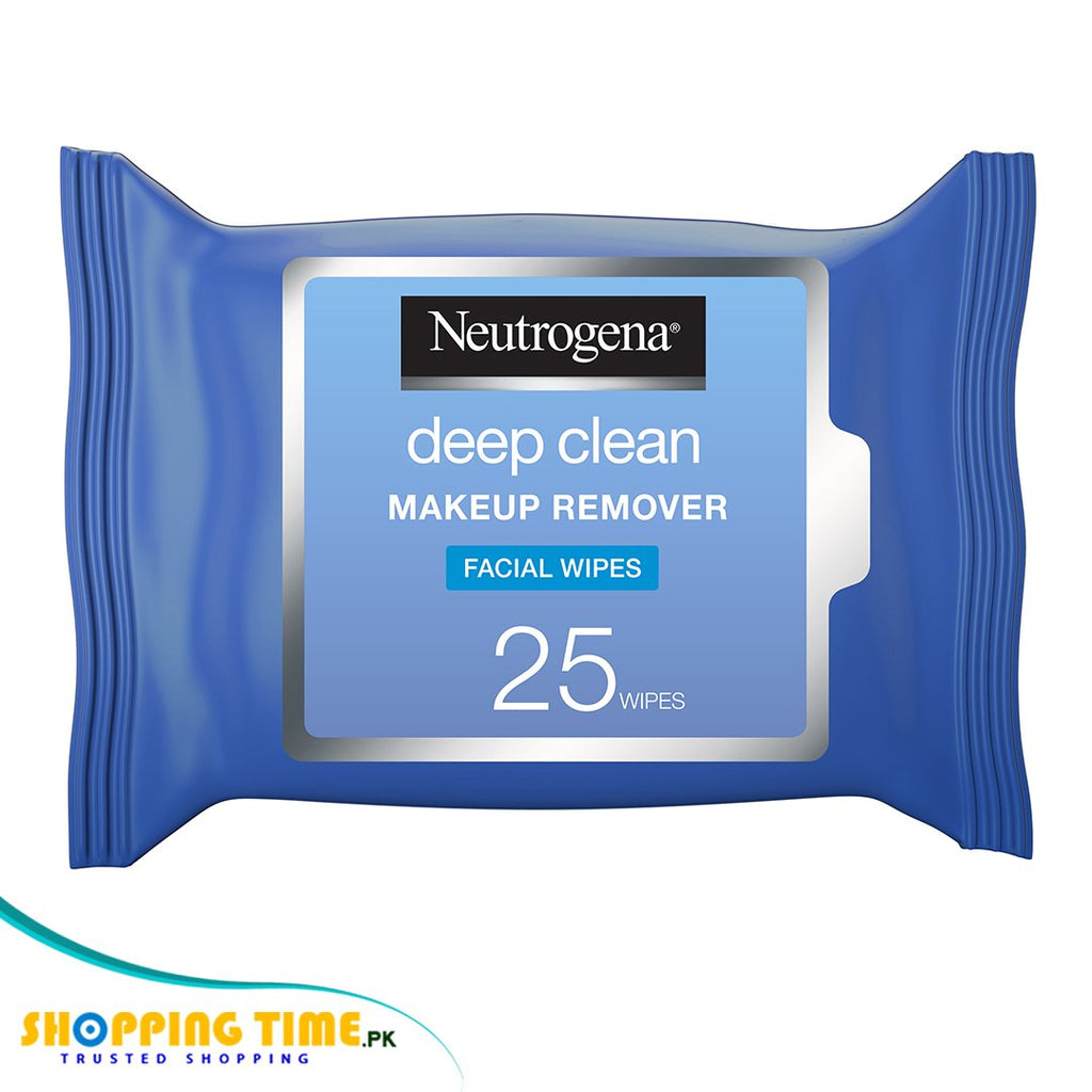 Neutrogena deep clean makeup remover