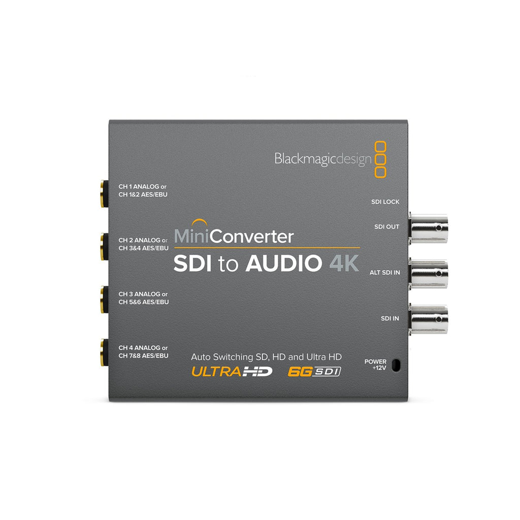 Mini Converter - SDI to Audio 4K