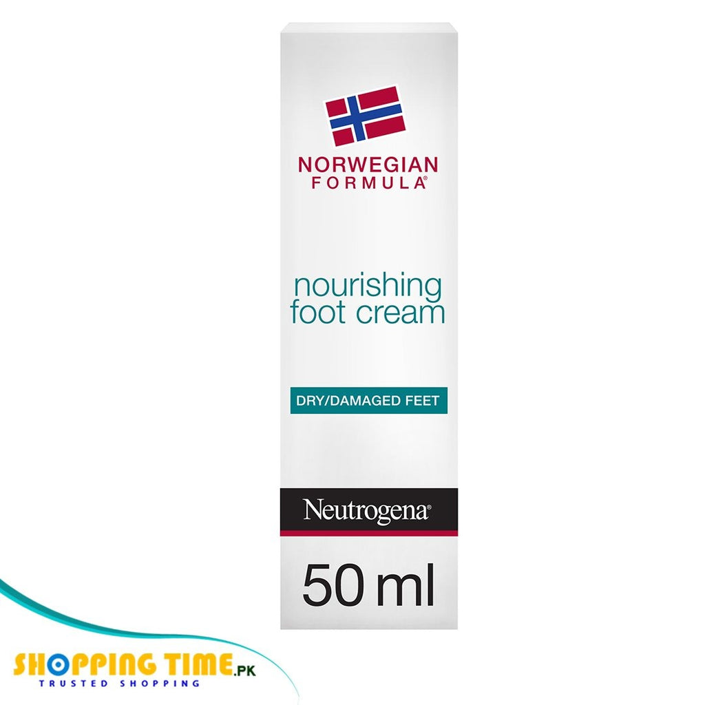 Neutrogena nourishing foot cream