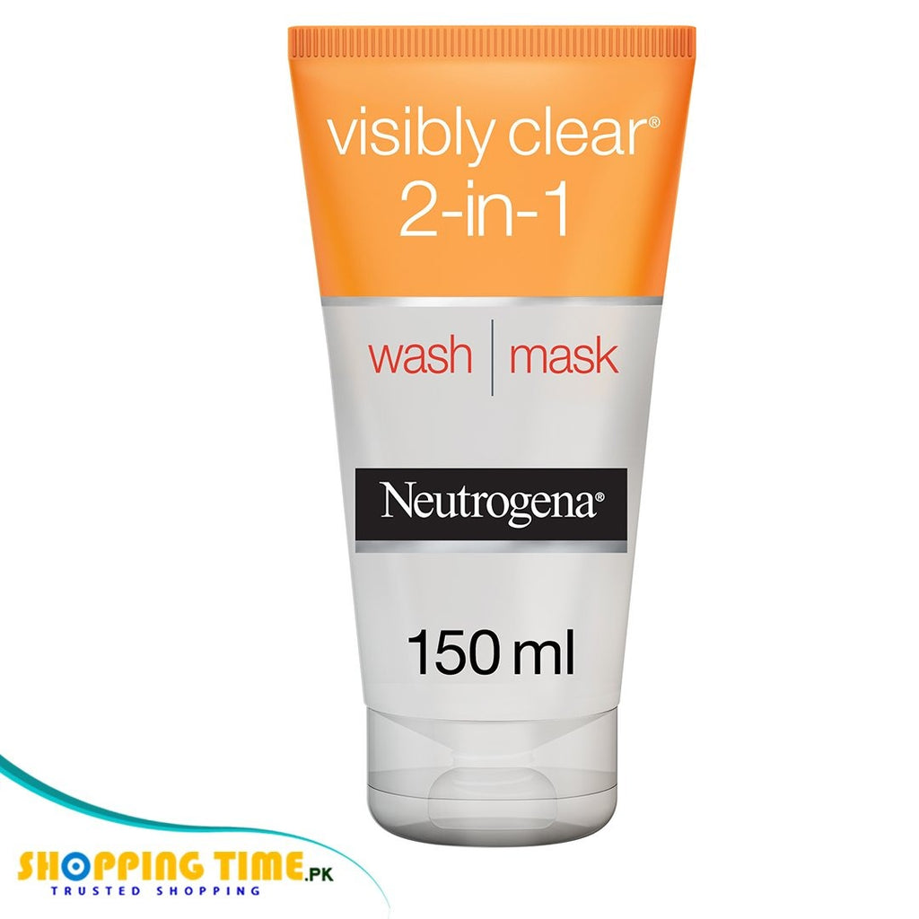 Neutrogena 2 in 1 wash & mask