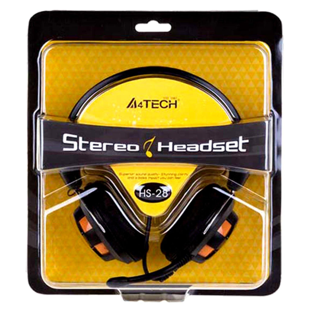 4 TECH Stereo Headset (HS-28)