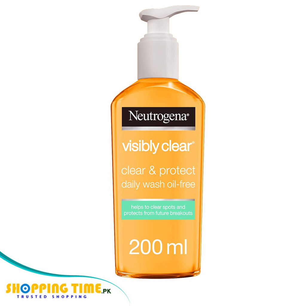 Neutrogena Clear & Protect Daily Wash Oil Free