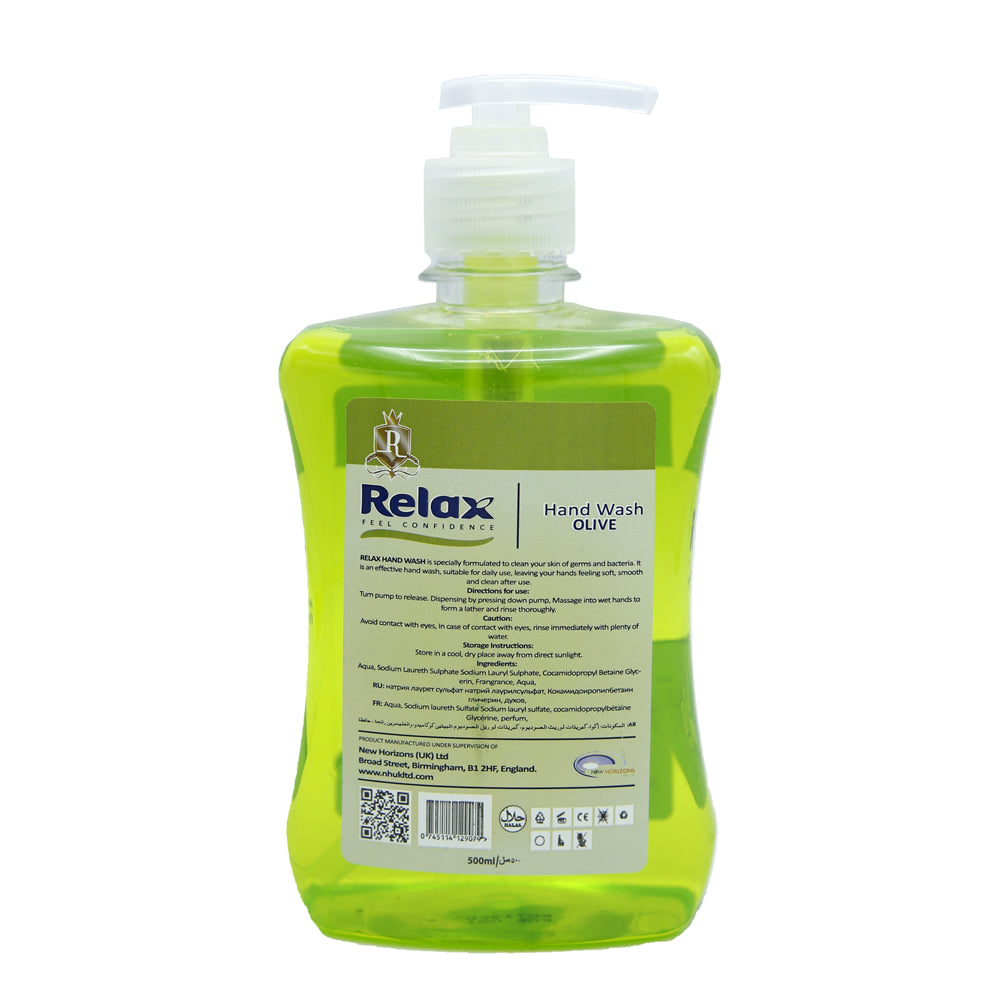 Relax Hand Wash Olive