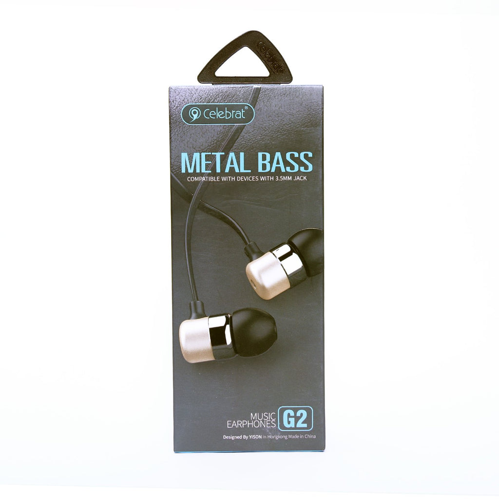 Celebrat G2 Music Earphones