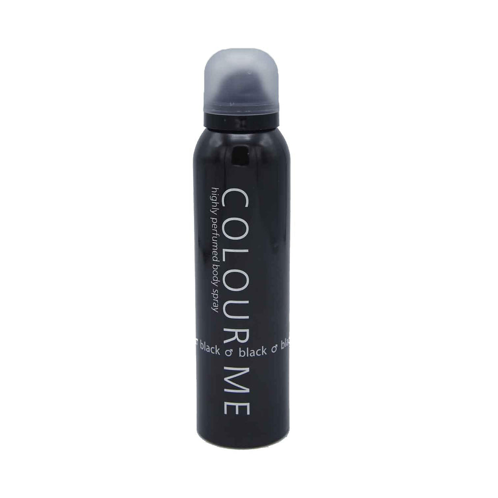 Colour Me Black Body Spray