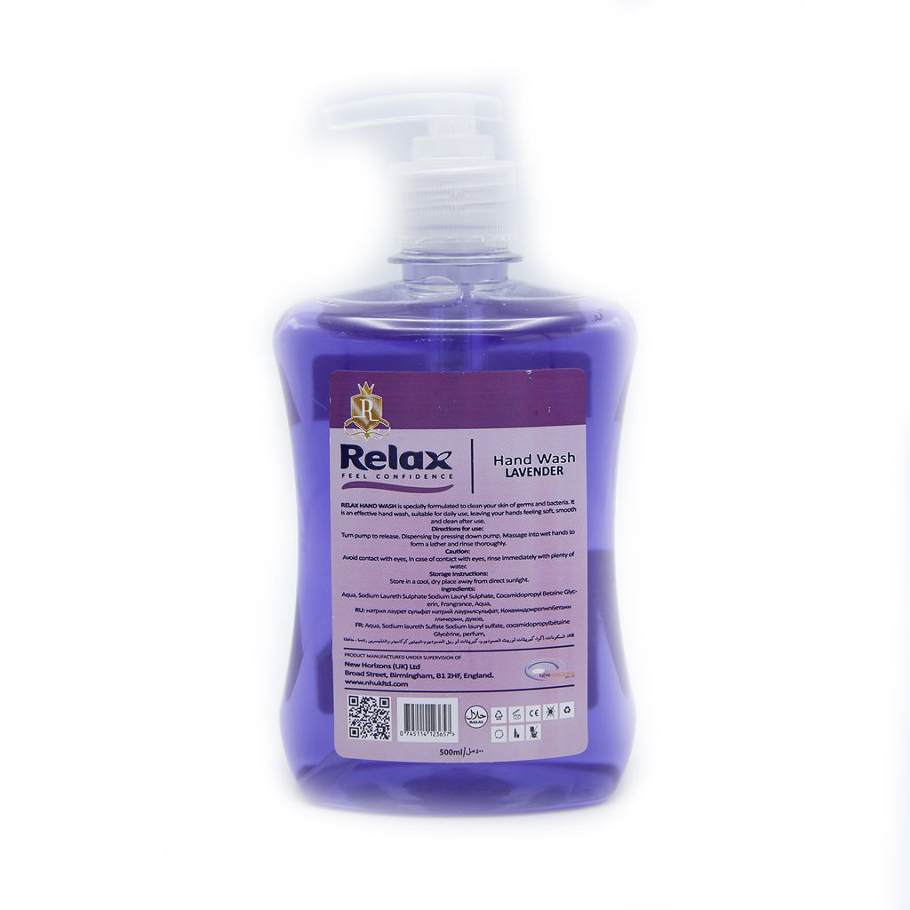Relax Hand Wash Lavender