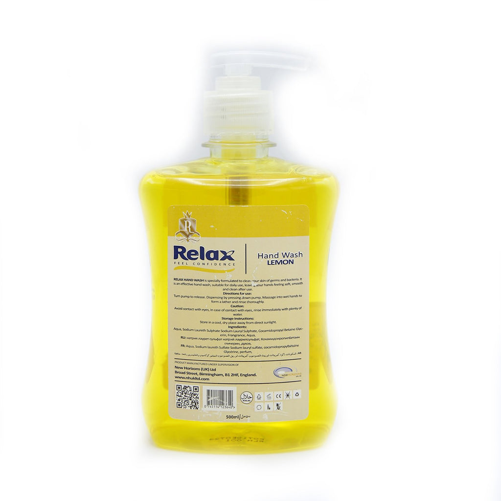 Relax Hand Wash Lemon