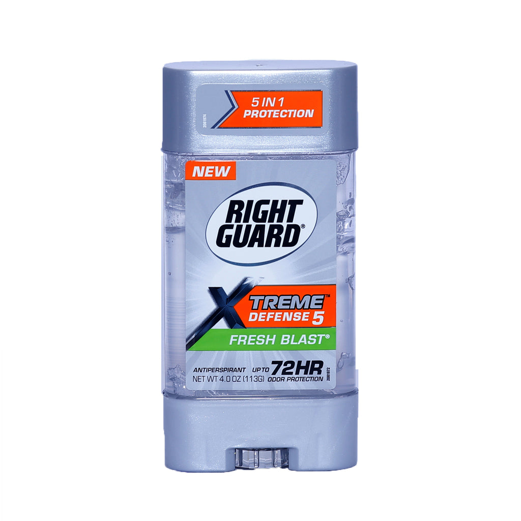 Right Guard Xtreme Defense 5 Fresh Blast