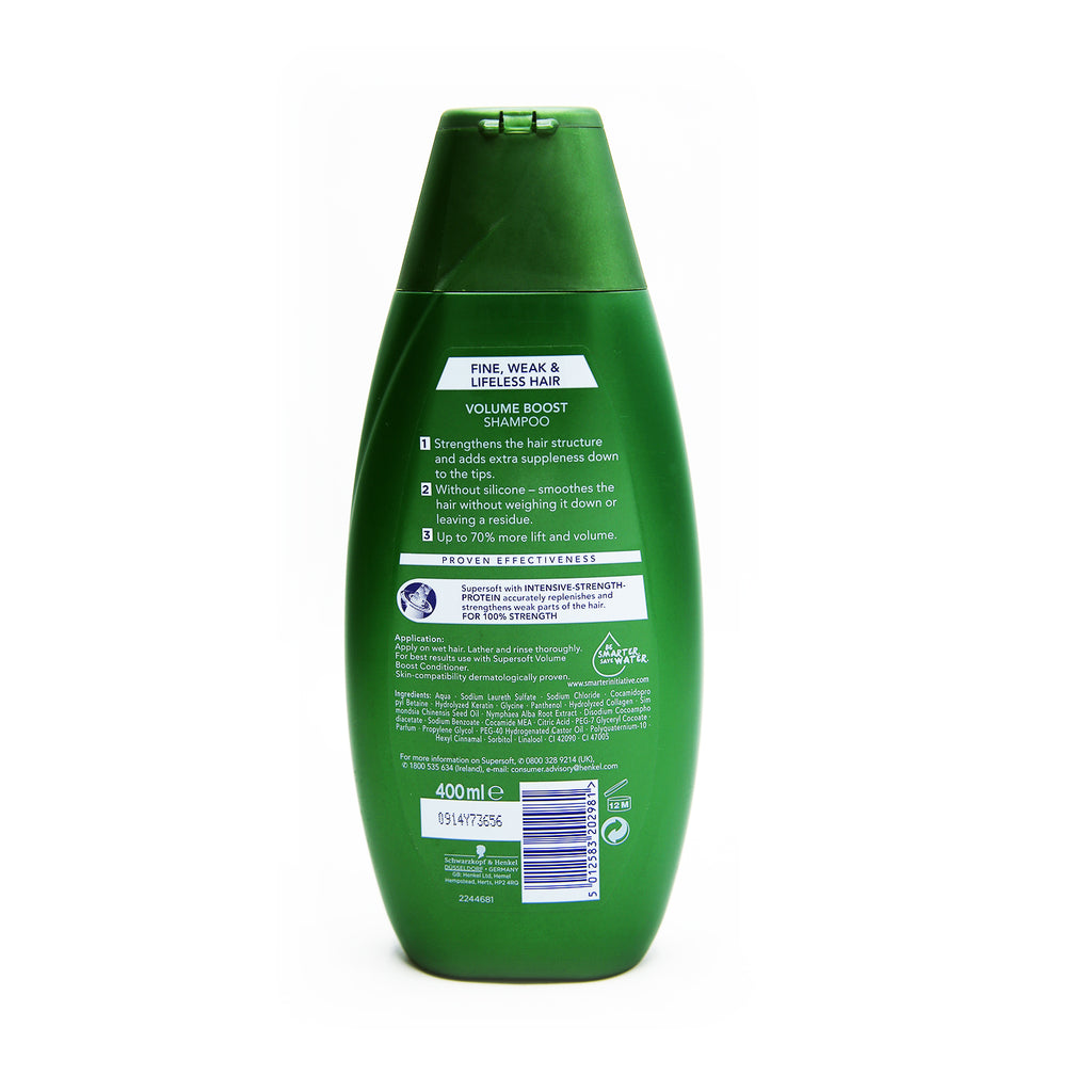 Schwarzkopf Super Soft Volume Boost Shampoo