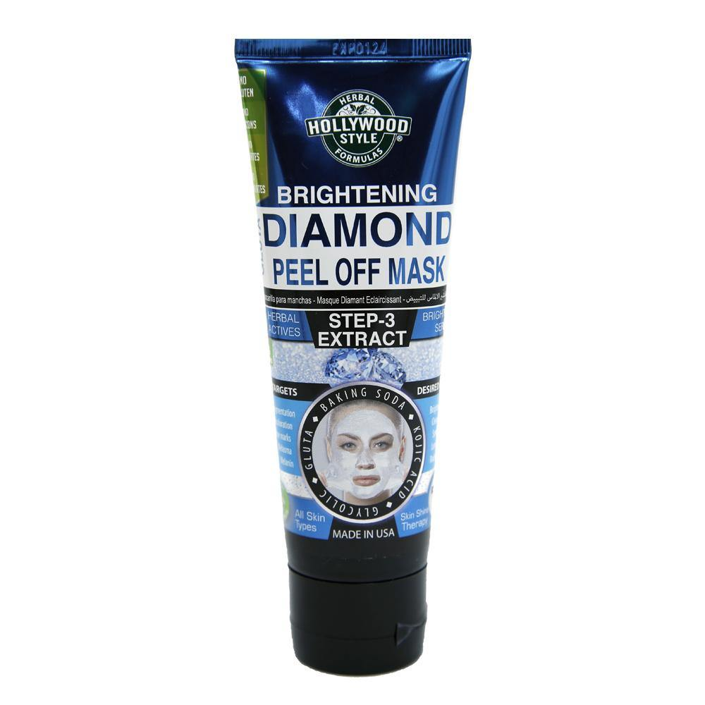 Hollywood Diamond Peel Off Mask - shoppingtime.pk