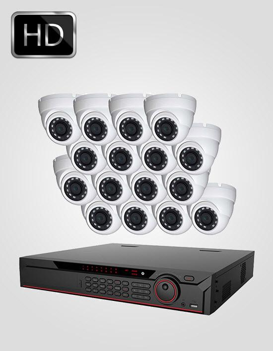 16 HD CCTV Cameras Package (DAHUA)