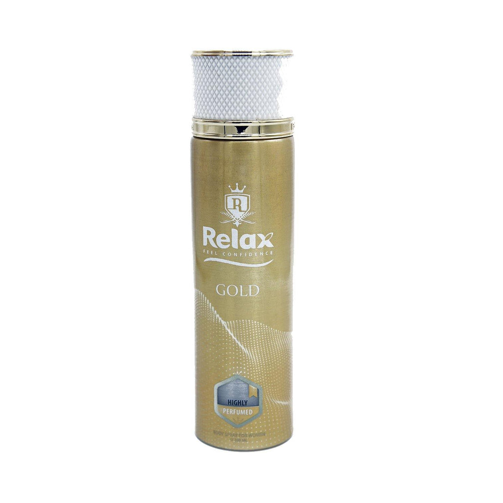 Relax Feel Confidence Gold