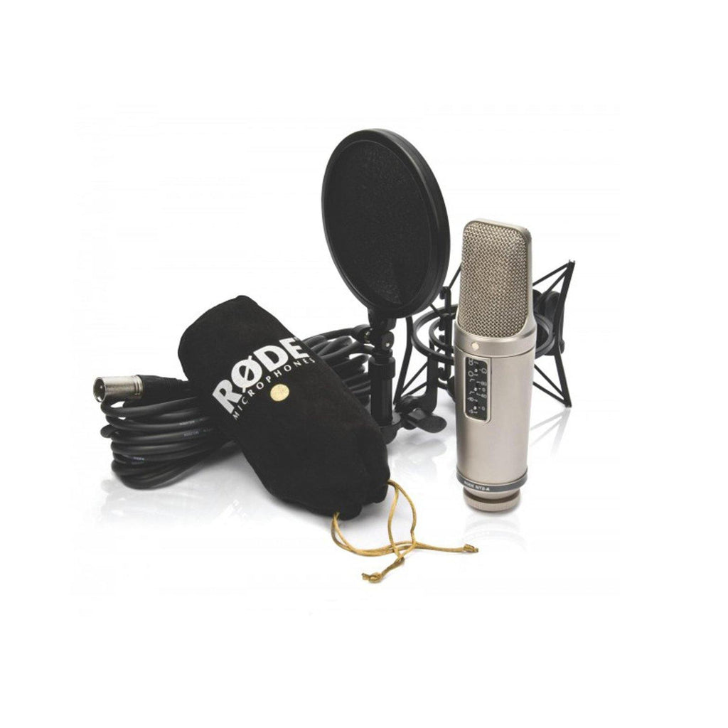 "Rode NT2-A (Multi-Pattern Dual 1"" Condenser Microphone) - shoppingtime.pk"