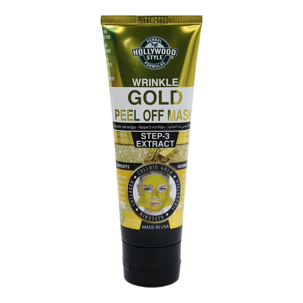 Hollywood Wrinkle Gold Peel Off Mask - shoppingtime.pk