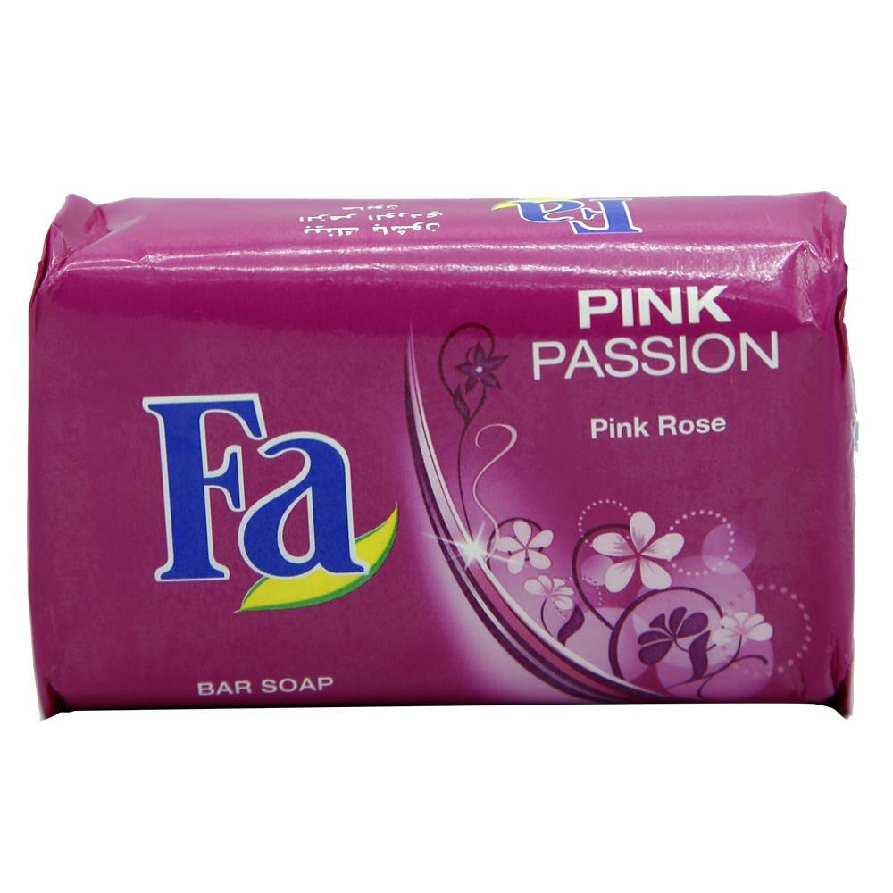 Fa Pink Passion Pink Rose Bar Soap - shoppingtime.pk