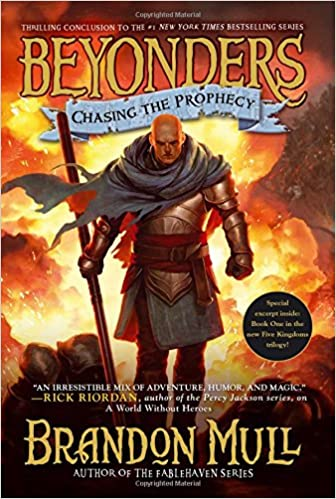 Beyonders: Chasing the Prophecy (Book 3), Brandon Mull