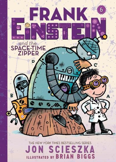 Frank Einstein and the Space-Time Zipper (Book 6), Jon Scieska