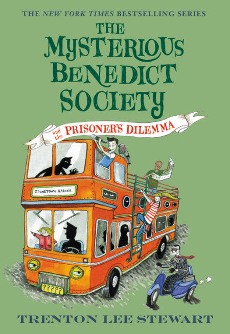 The Mysterious Benedict Society and the Prisoner's Dilemma (Book 3), Trenton Lee Stewart