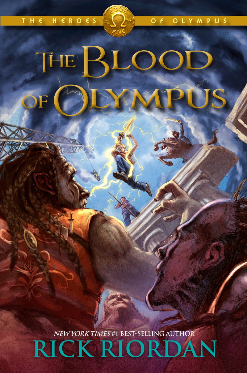 The Heroes of Olympus: The Blood Of Olympus (Book 5), Rick Riordan
