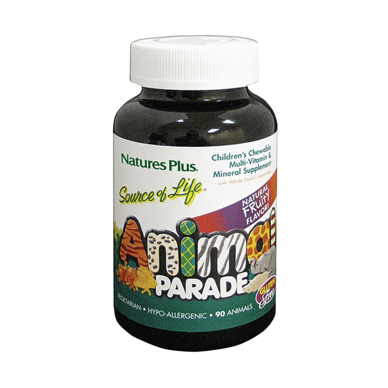 NaturesPlus Animal Parade Childrens Chewable Multi-Vitamin & Mineral
