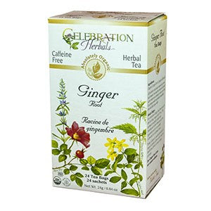Celebration Herbals Ginger Root Tea