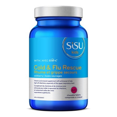 Sisu Kids Cold & Flu Rescue Wildberry