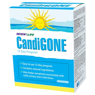 RenewLife CandiGone Yeast Cleansing System