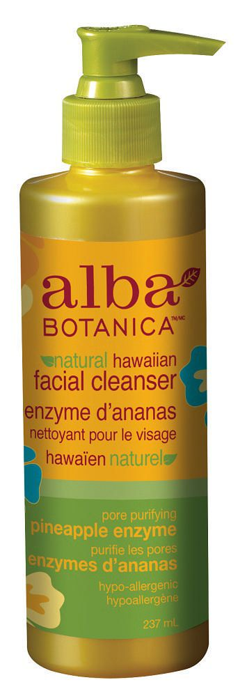Alba Botanica Natural Hawaiian Facial Cleanser Pore Purifying Pineapple Enzyme