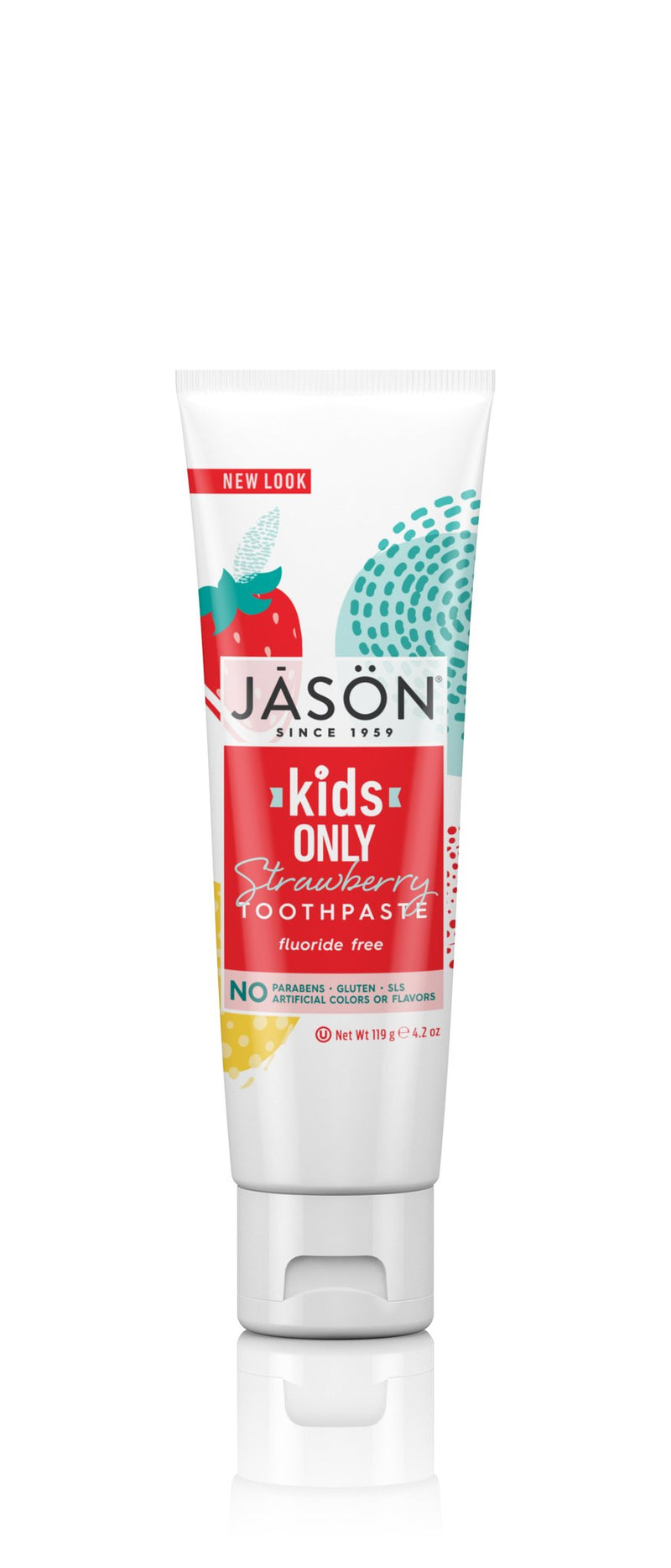Jason Kids Only All Natural Toothpaste Strawberry Flavour